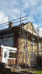 Roofing company Paignton liase effectively with scaffolding companies to be as efficient as possible